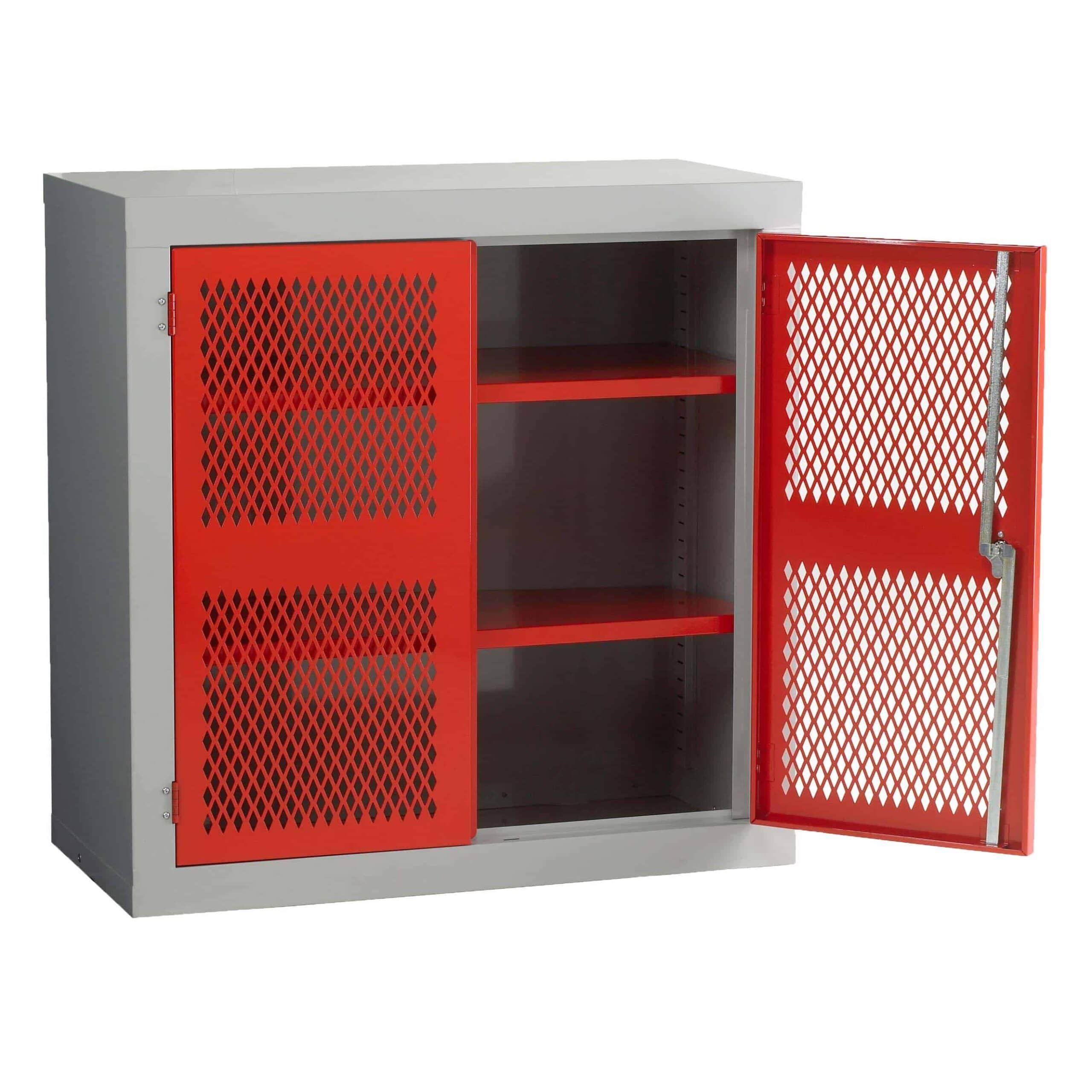 Mesh Door Low Cabinets
