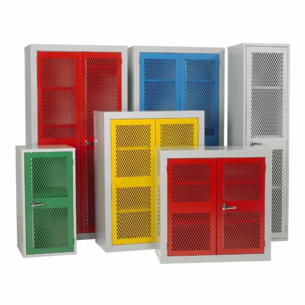 Mesh Door Steel Storage Cabinets