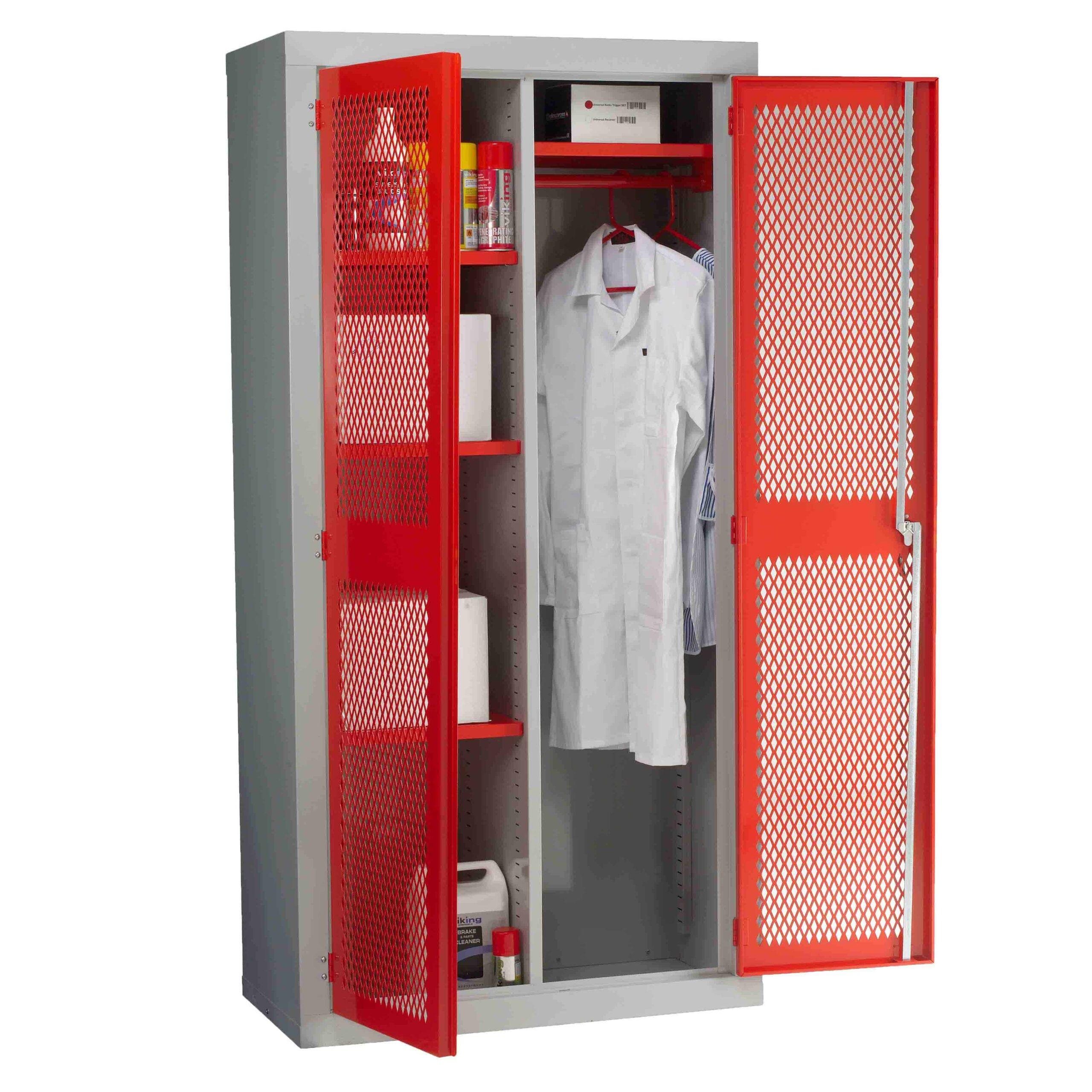 Mesh Door Wardrobe Cabinets