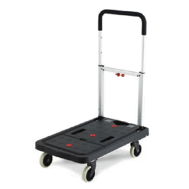 Lightweight Plastic Folding Flatbed Trolley