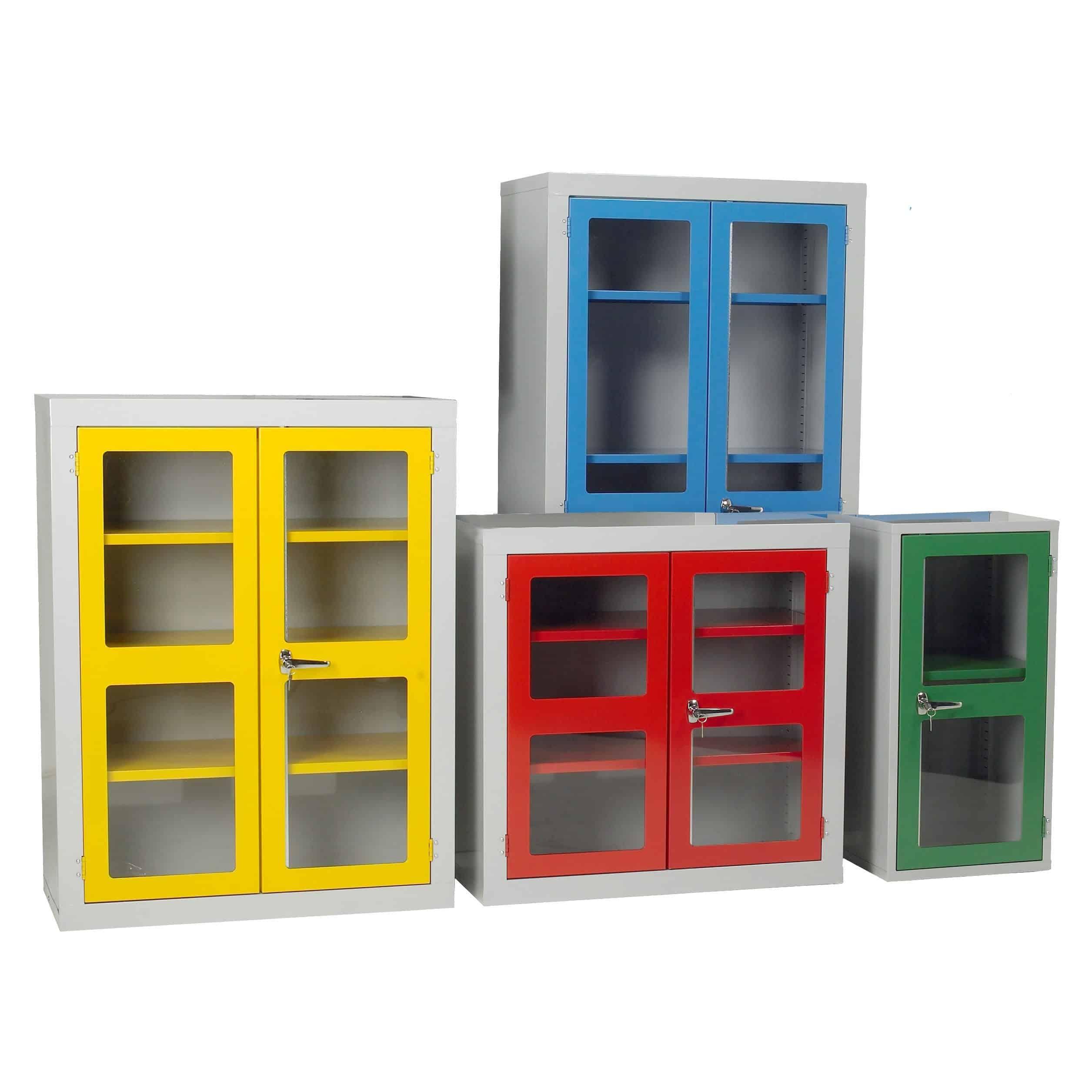Polycarbonate Door Floor Cabinets