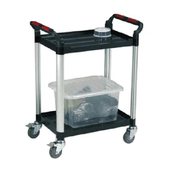 Robust Plastic 2 Shelf Utility Tray Trolleys