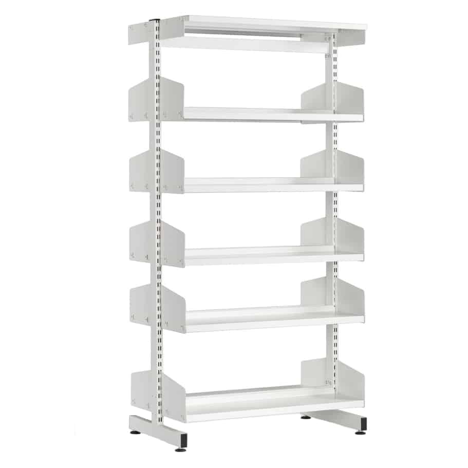 Technic Double Sided Steel Library Shelving