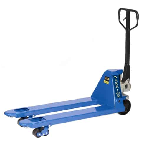 Warrior Tandem Wheel Hand Pallet Trucks 3000kg Capacity