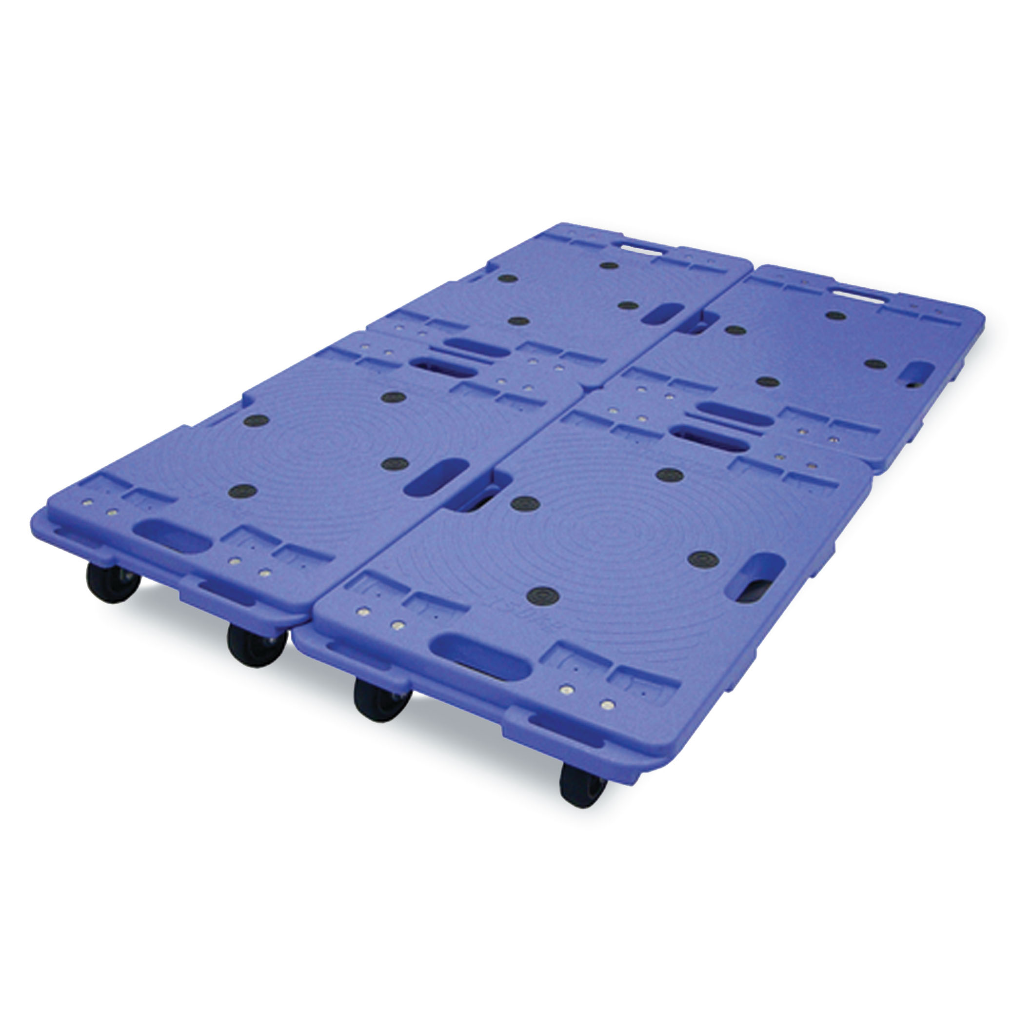 Interconnecting Plastic Dolly 150kg Capacity