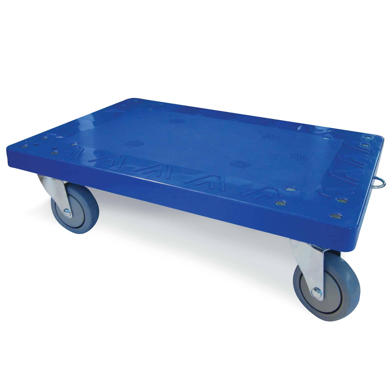 Heavy Duty Plastic Dolly 250kg Capacity