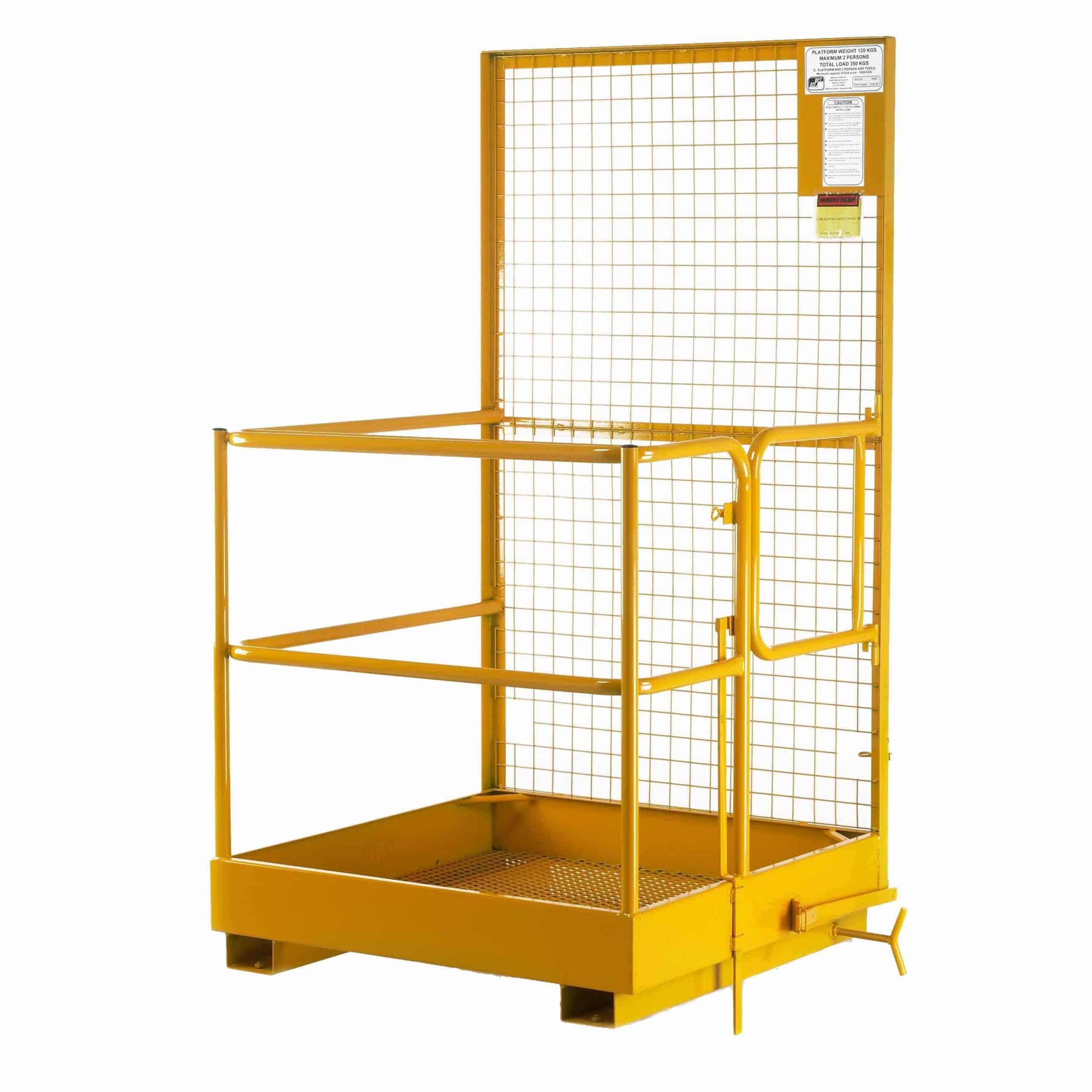 Forklift Truck Mounted Steel Access Platform