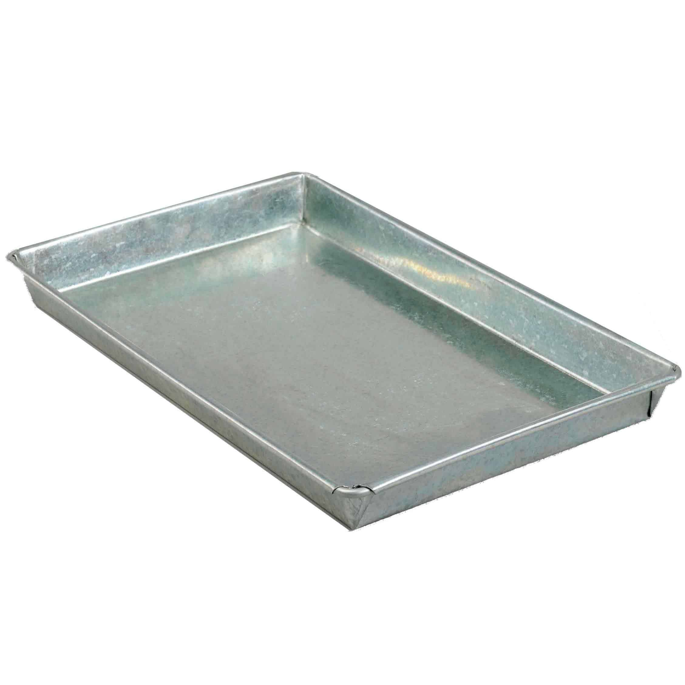 Galvanised Steel Drip Trays 8 Litre