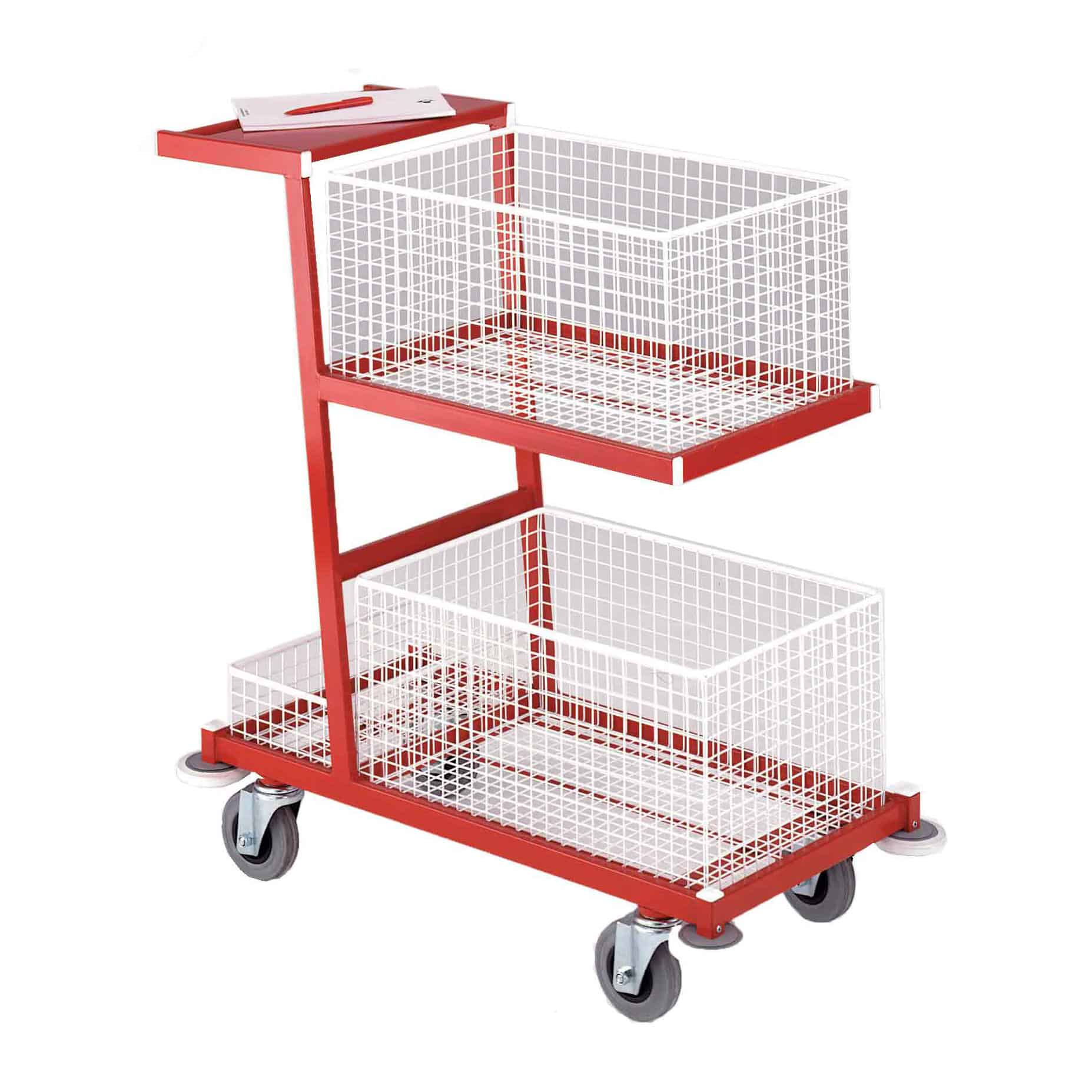 Super Service Removable Basket Tray Trolleys