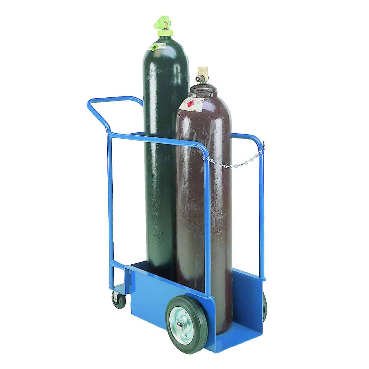 Tandem Double Gas Cylinder Bottle Trolley