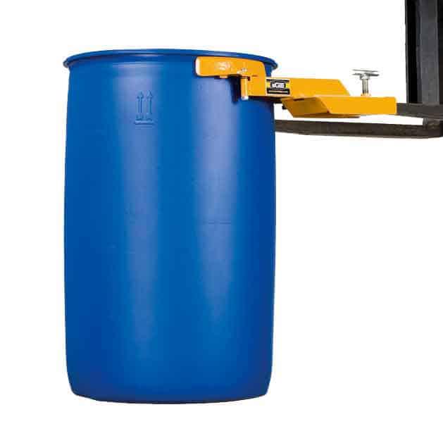 Forklift Drum Grab Single Poly Drum
