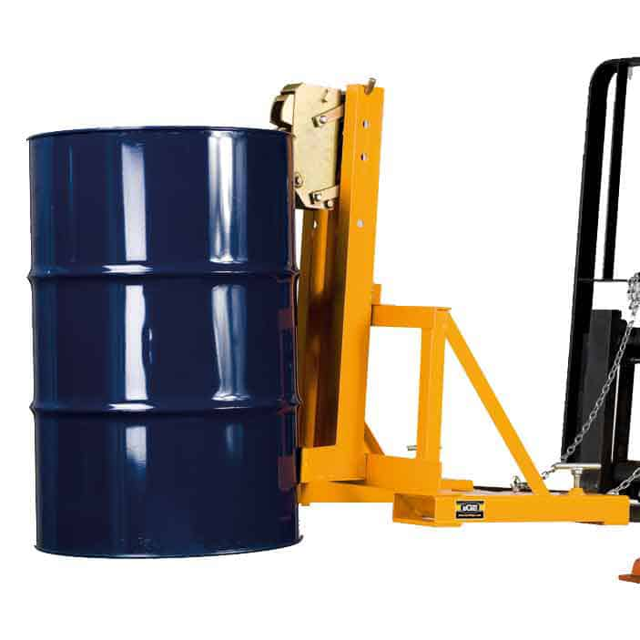 Forklift Grip Action Single Drum Grab