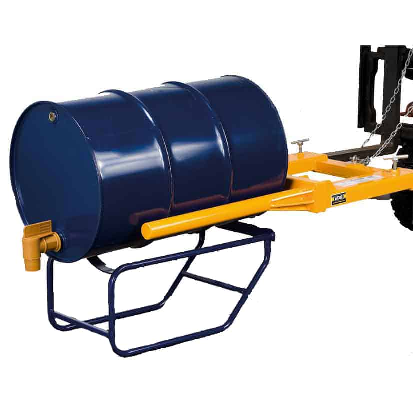 Heavy Duty Forklift Operated Drum Positioners