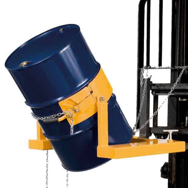 Heavy Duty Forklift Operated Drum Rotators