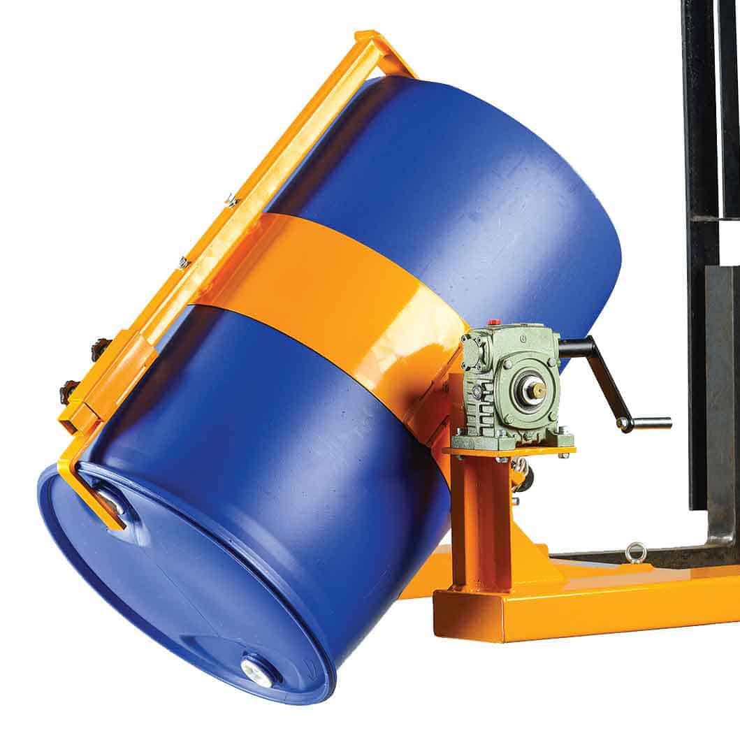 Hand Crank Operated Poly Drum Rotators