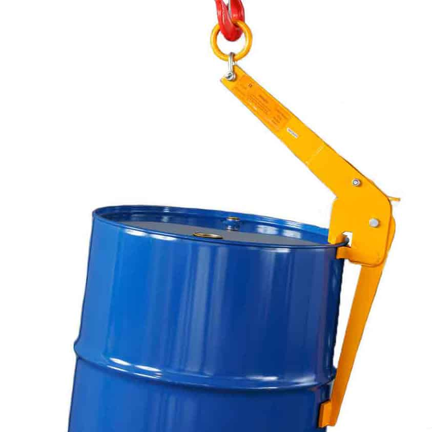Heavy Duty Vertical Steel Drum Lifting Clamp