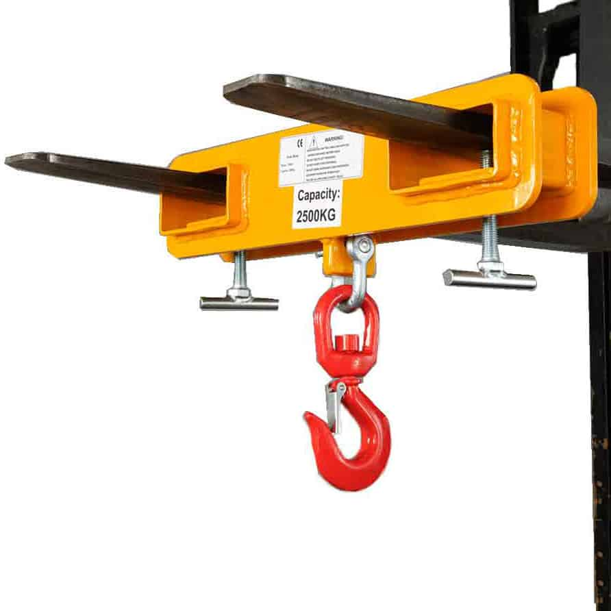 Heavy Duty Forklift Double Sleeve Attachments