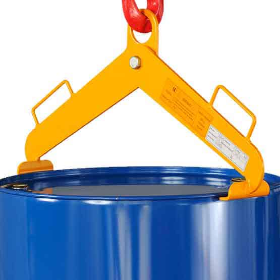 Vertically Operated Drum Lifting Slings