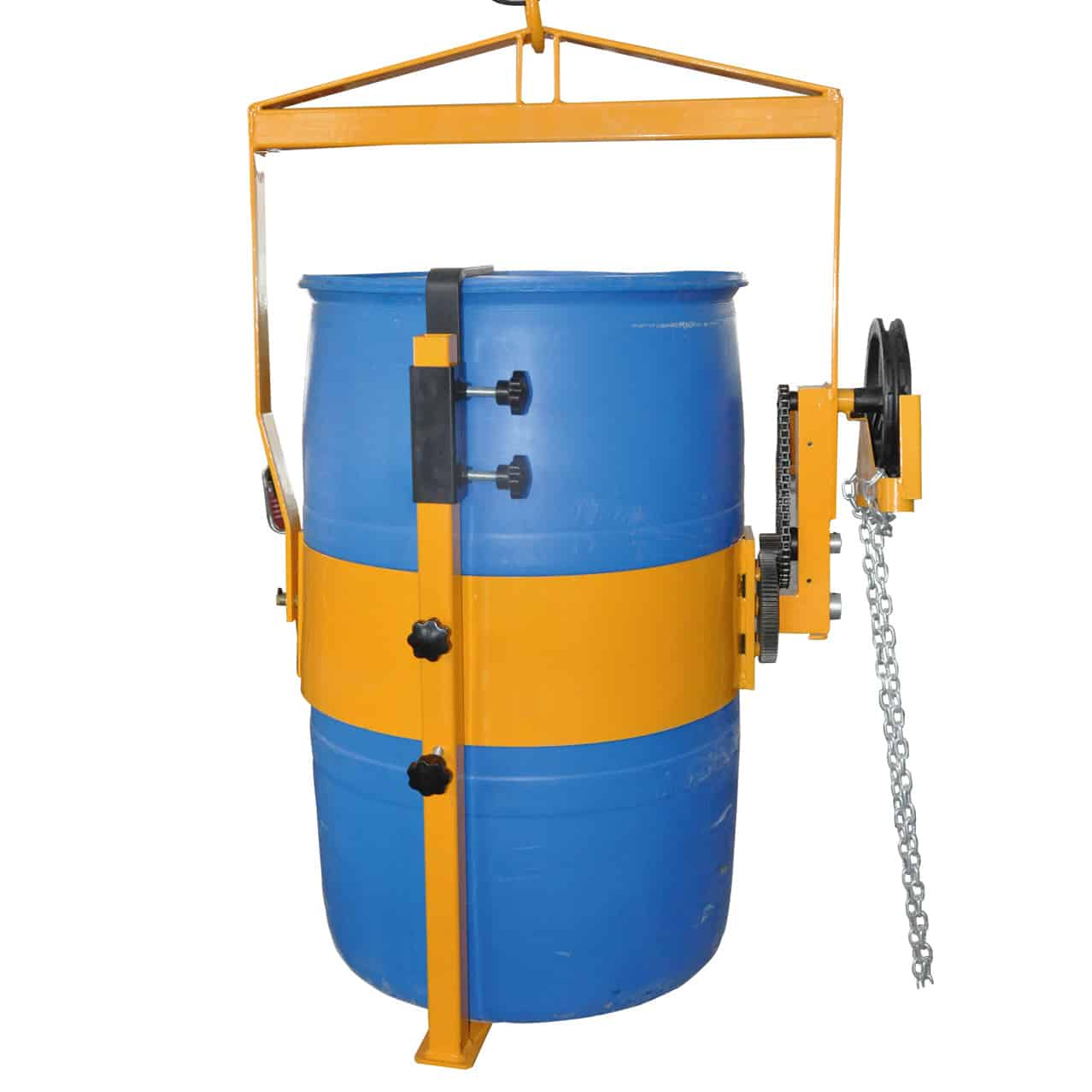 Chain Pulley Operated Poly Drum Lifter