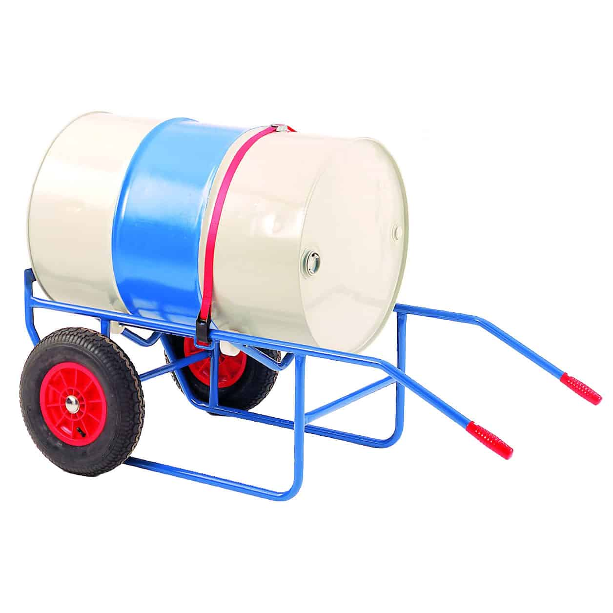 Solid Wheel Steel Drum Trolley and Pouring Stand