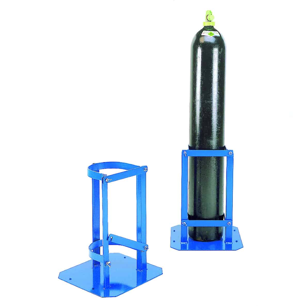 Heavy Duty Hinged Latch Cylinder Stand