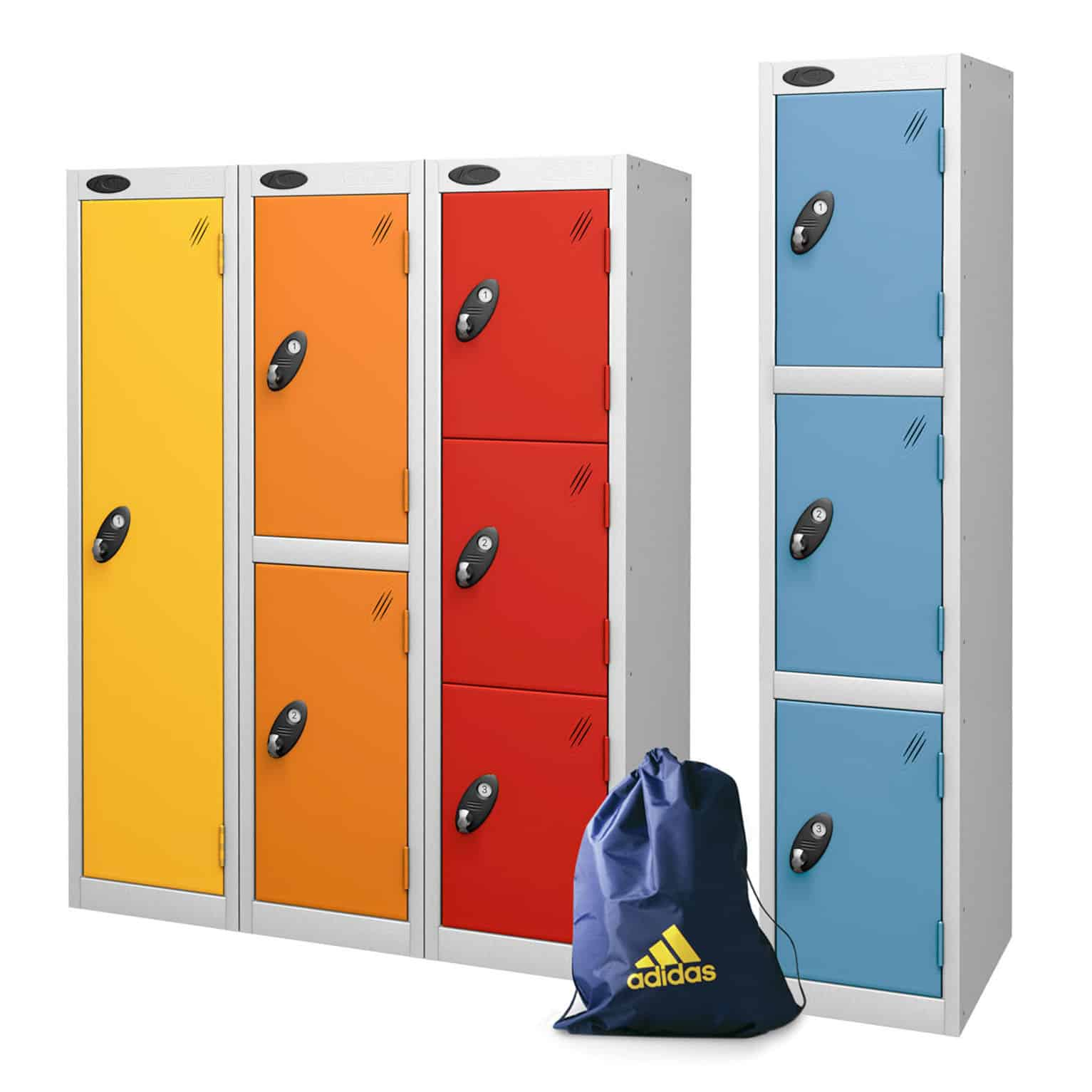 Probe Low Height Educational Metal Lockers