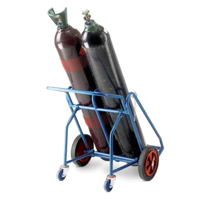 Double Oxygen Acetylene Cylinder Trolleys