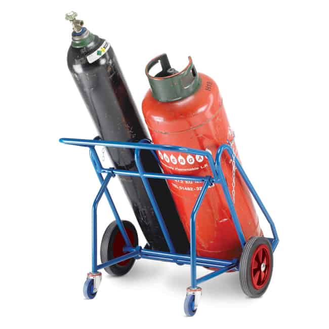 Double Oxygen Propane Cylinder Trolleys