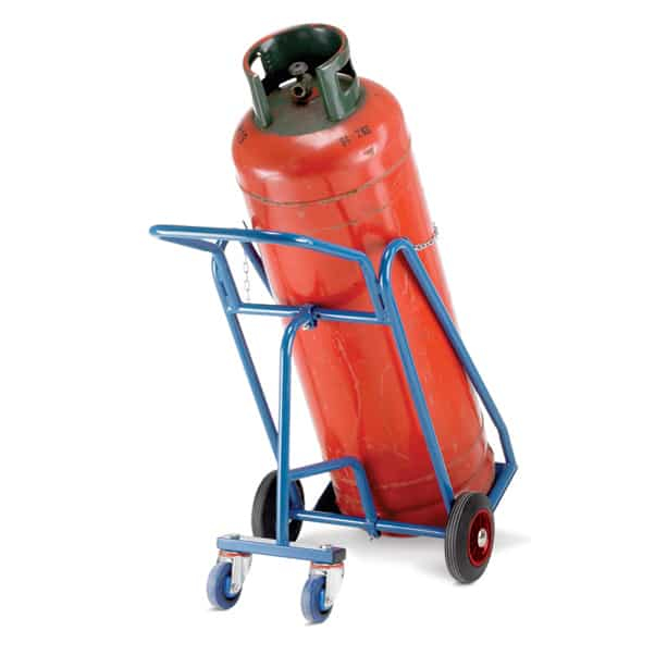 Barton 47kg Propane Cylinder Steel Trolleys