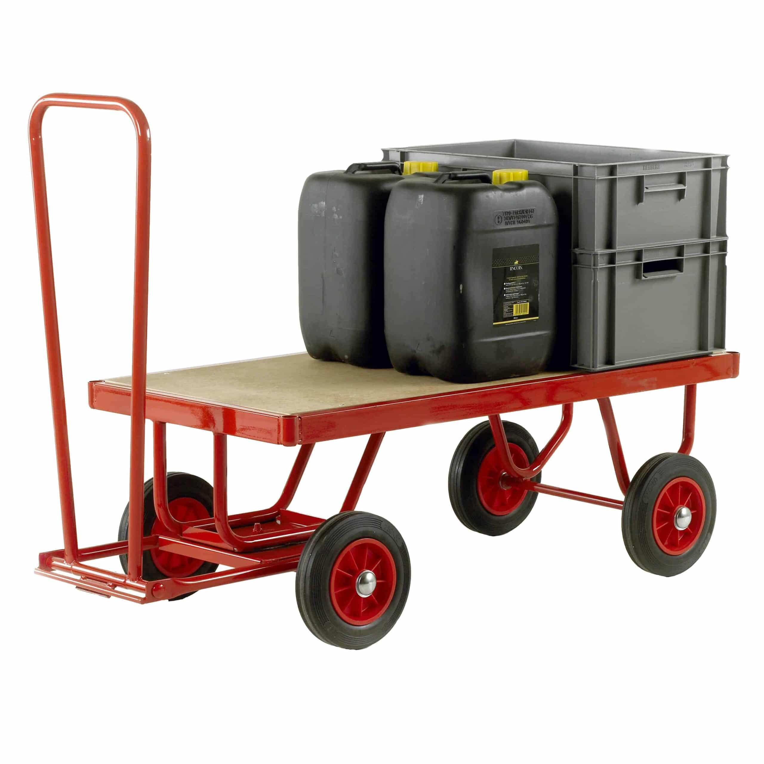 Trader Truck Hand Turntable Trailers 500kg Capacity
