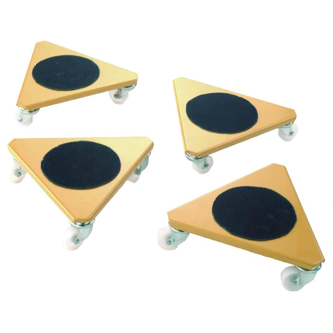 Rolling Platform Skates 500kg Load Capacity