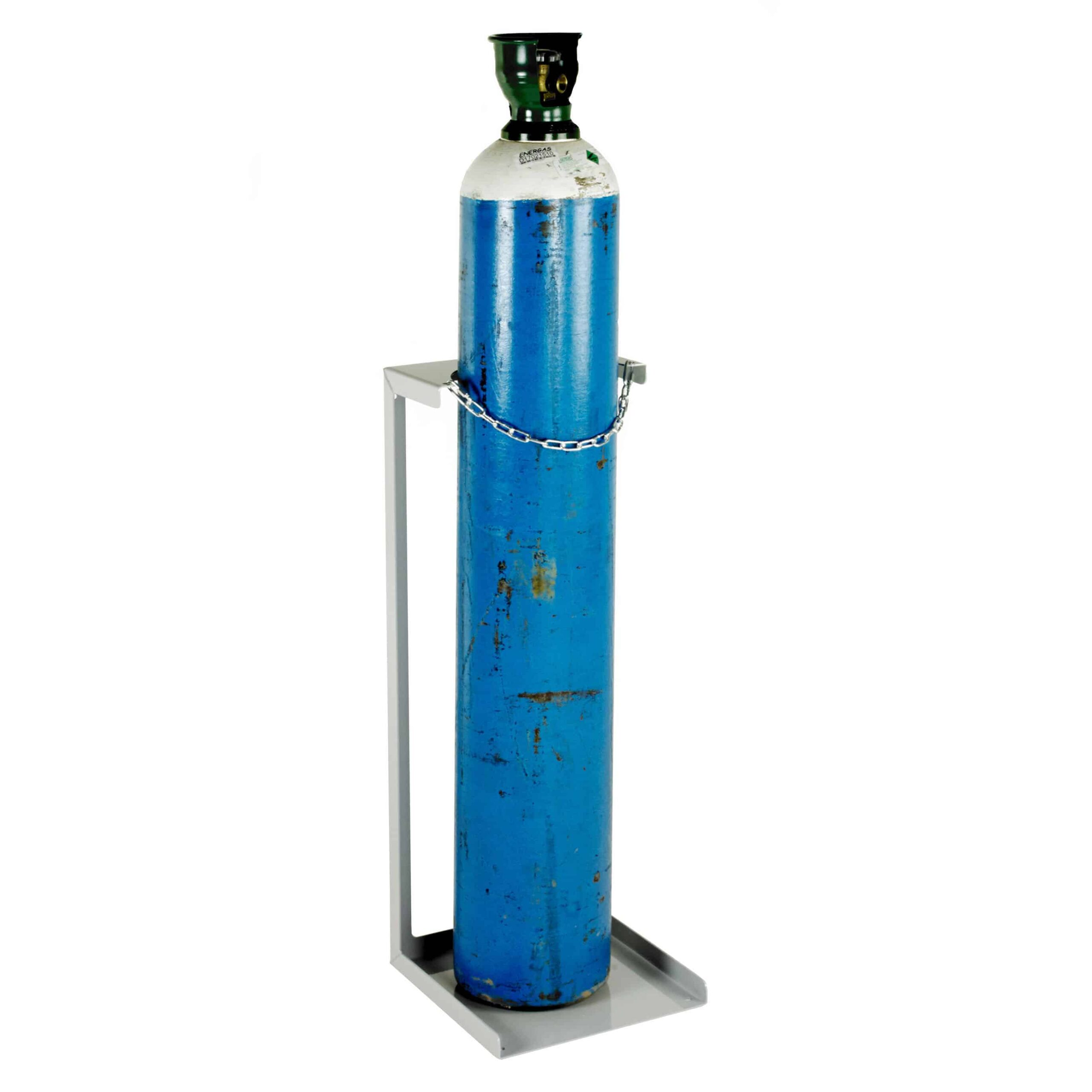 Economy Static Steel Cylinder Floor Stands