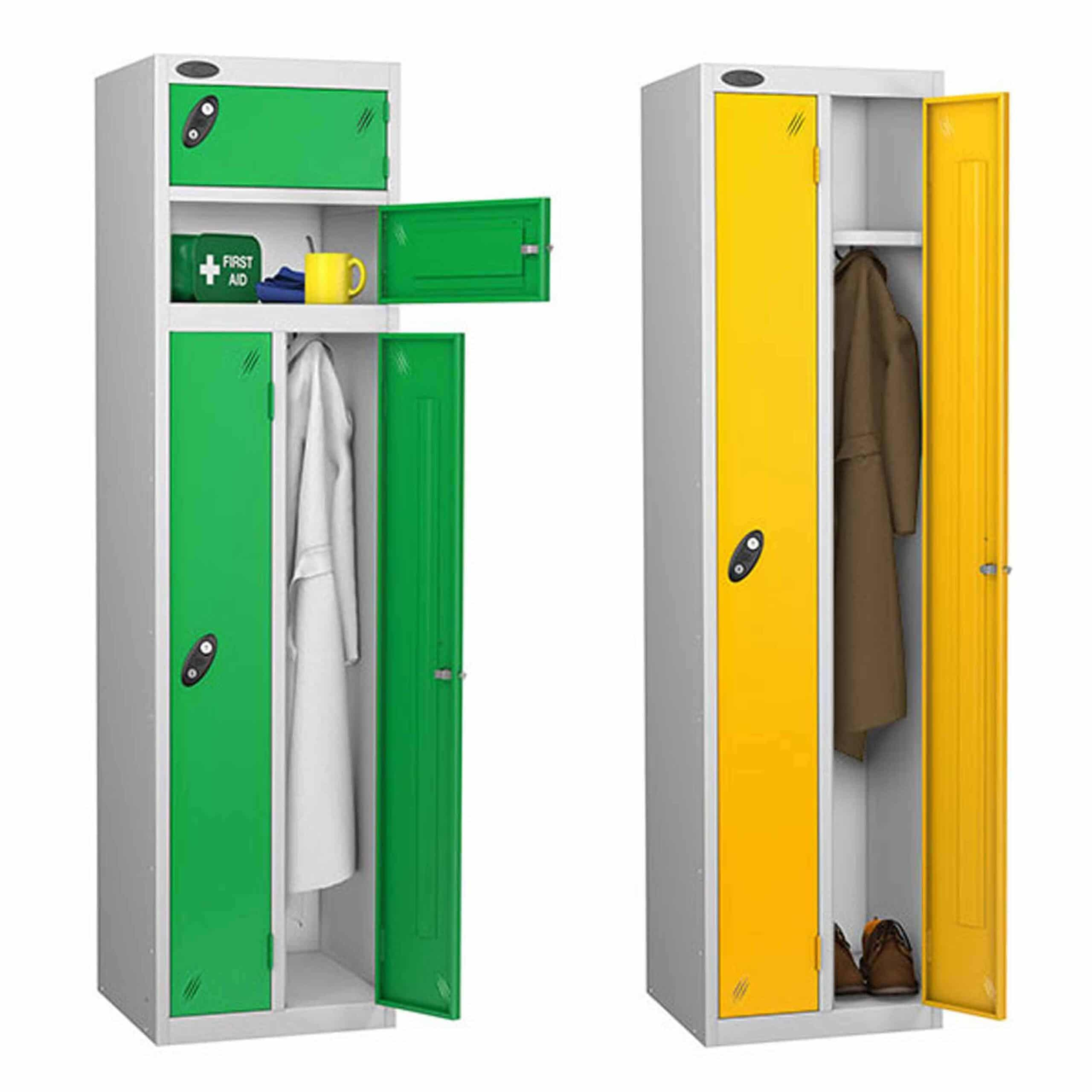Probe Specialist Space Saving Steel Lockers