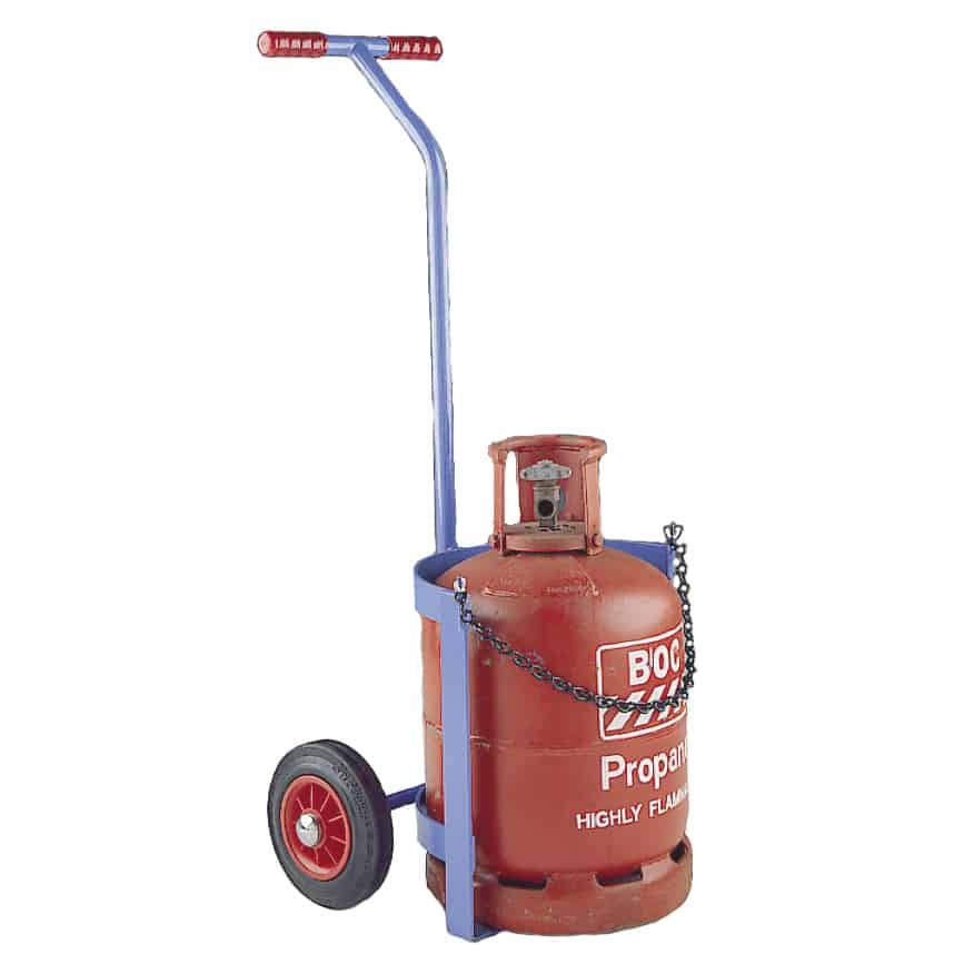 Small Propane Calor Gas Cylinder Trolley