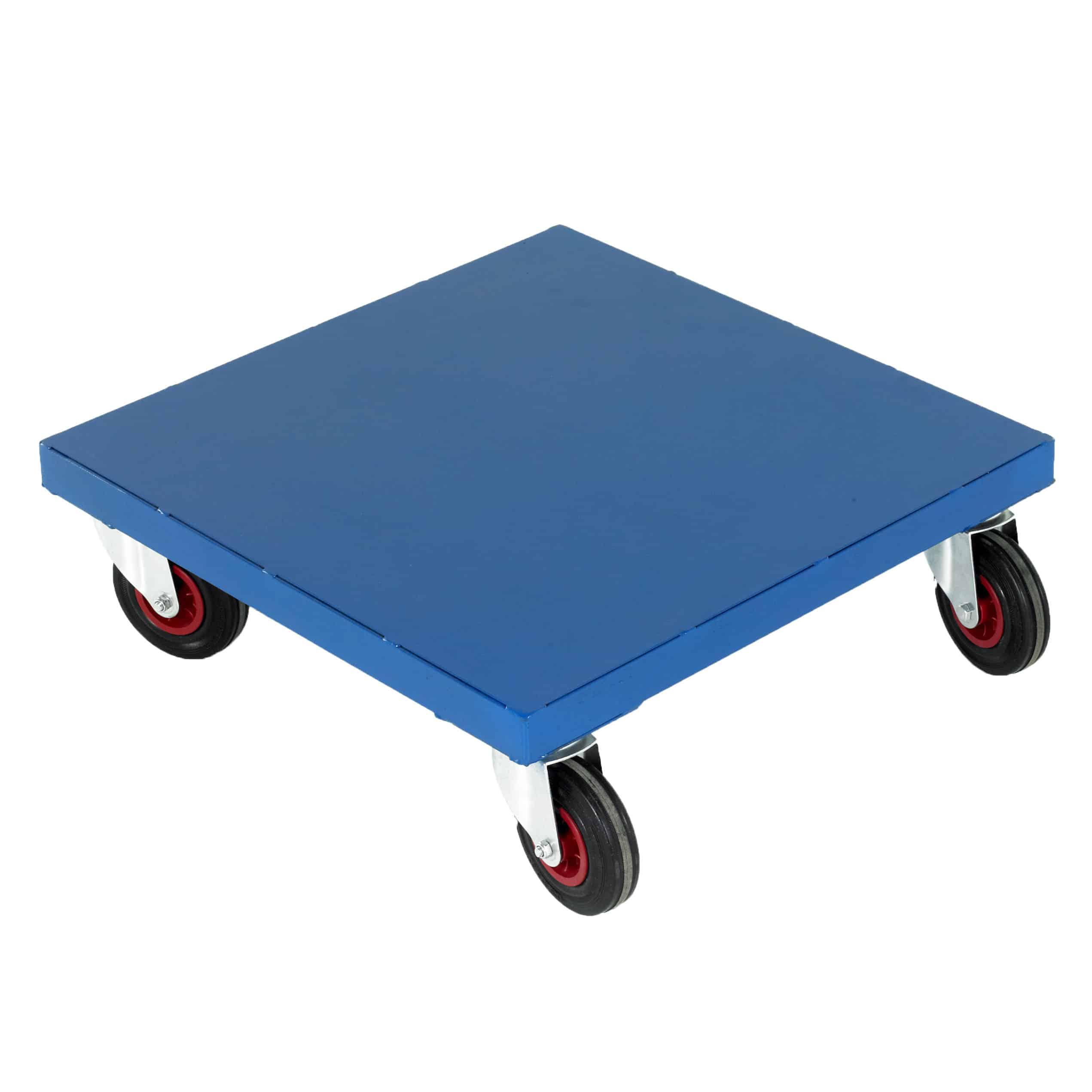 Steel Deck Steel Platform Dollies 300kg Capacity