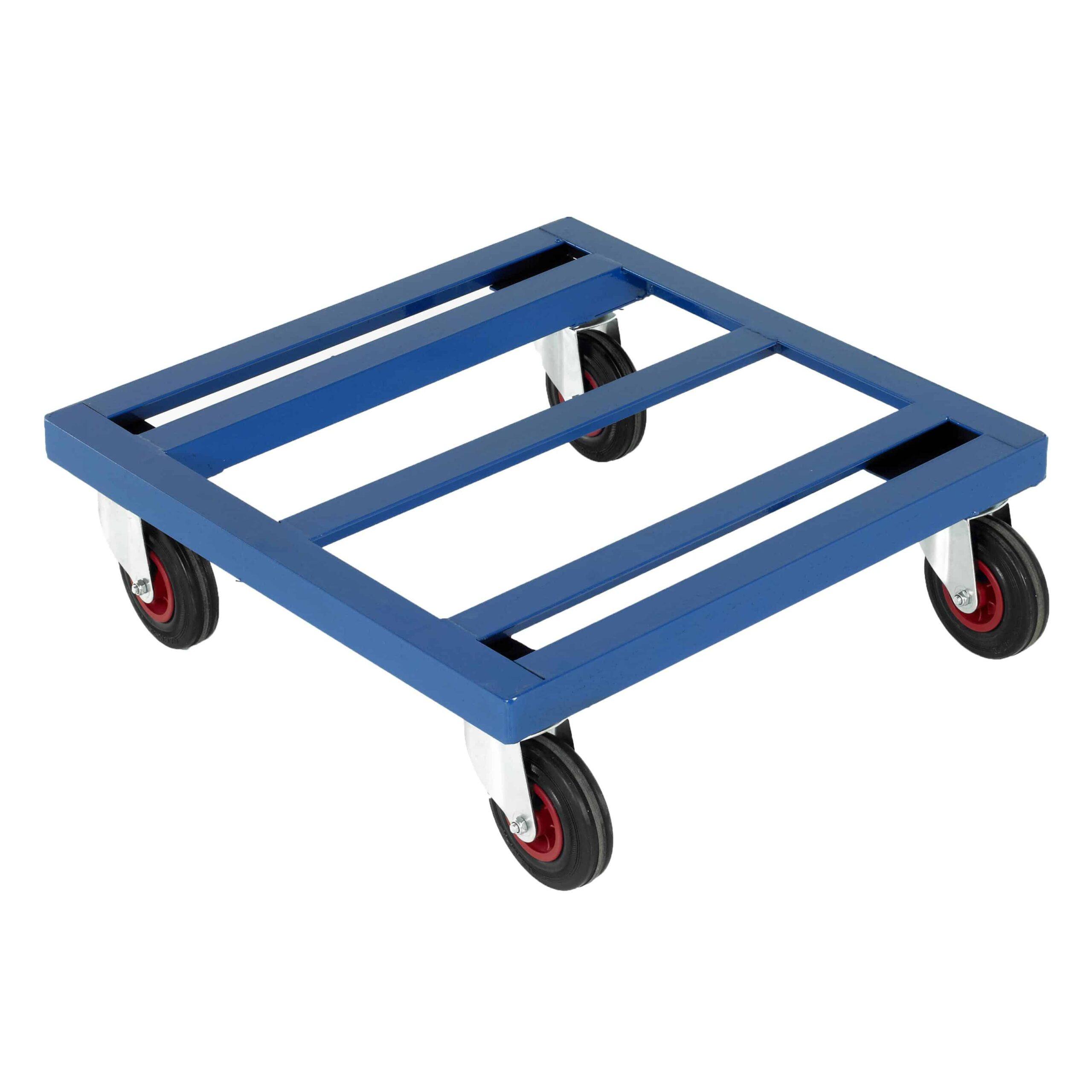 Open Frame Steel Platform Dollies 300kg Capacity