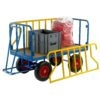 Tubular Support Turntable Trailers