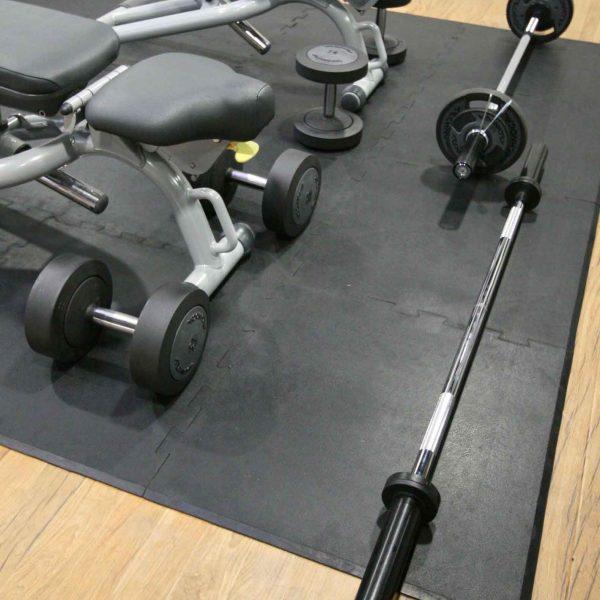 Heavy Duty Interlocking Rubber Sports Tiles
