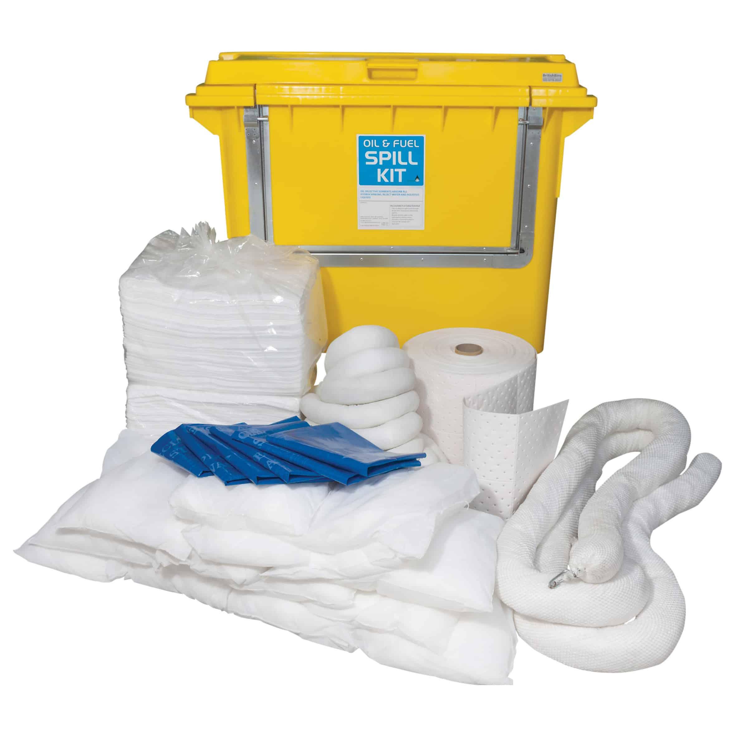 Envirospill 500 Litre Mobile Spill Response Kits
