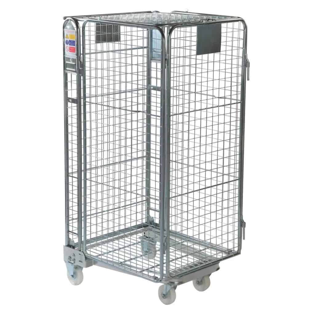 Full Security Mesh Infill Nestable Roll Pallet