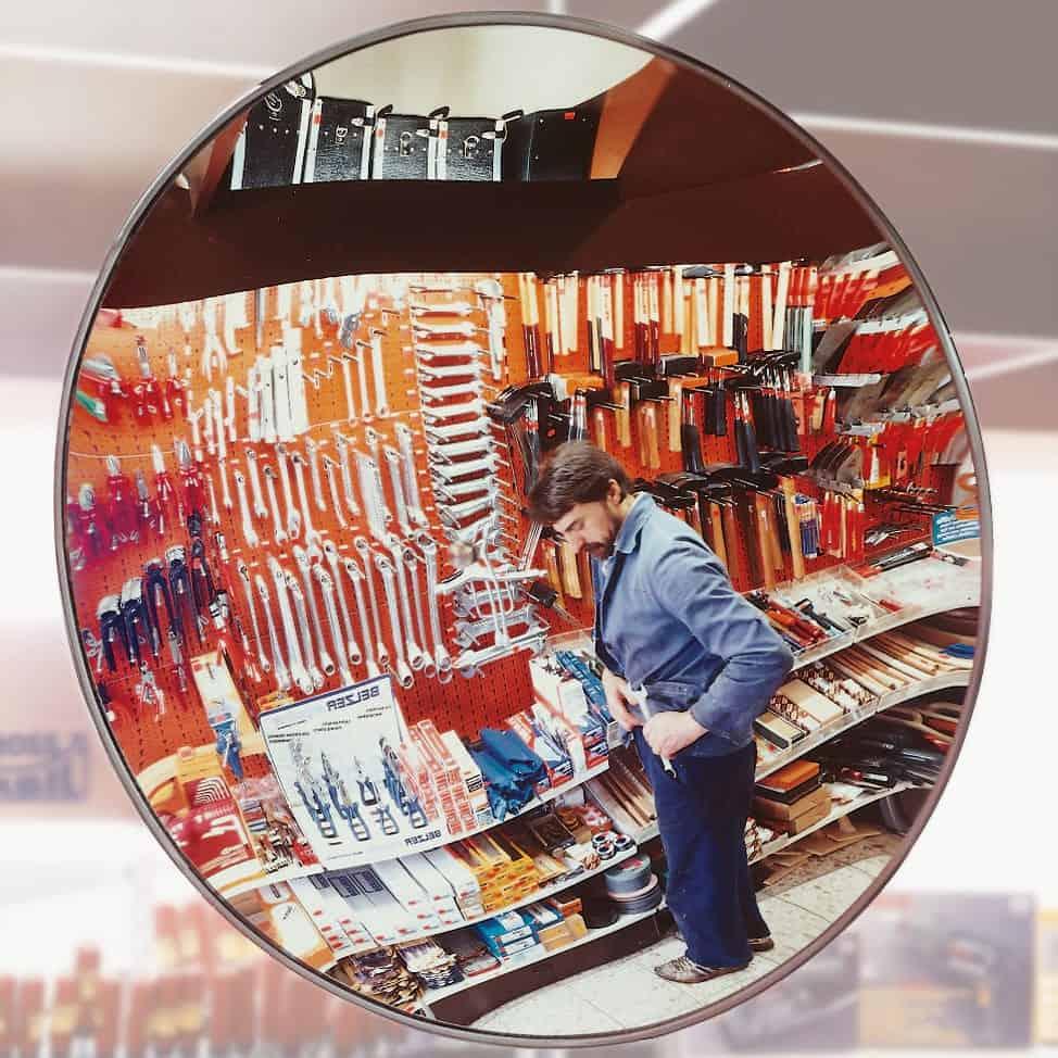 Detective X Convex Observation Mirror