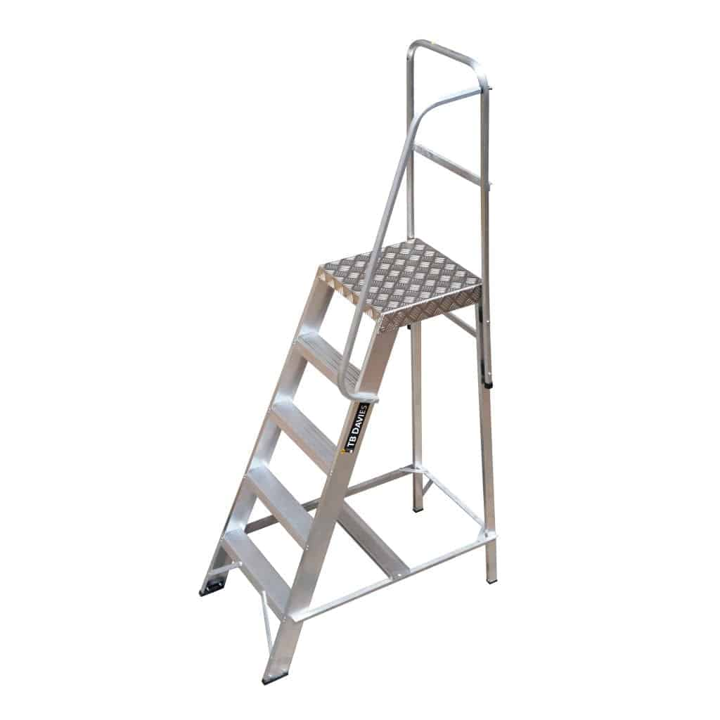 Single Sided Industrial Machine Platform Steps