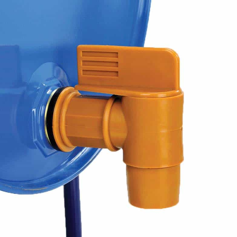 Manually Operated 2 Inch BSP Plastic Barrel Taps