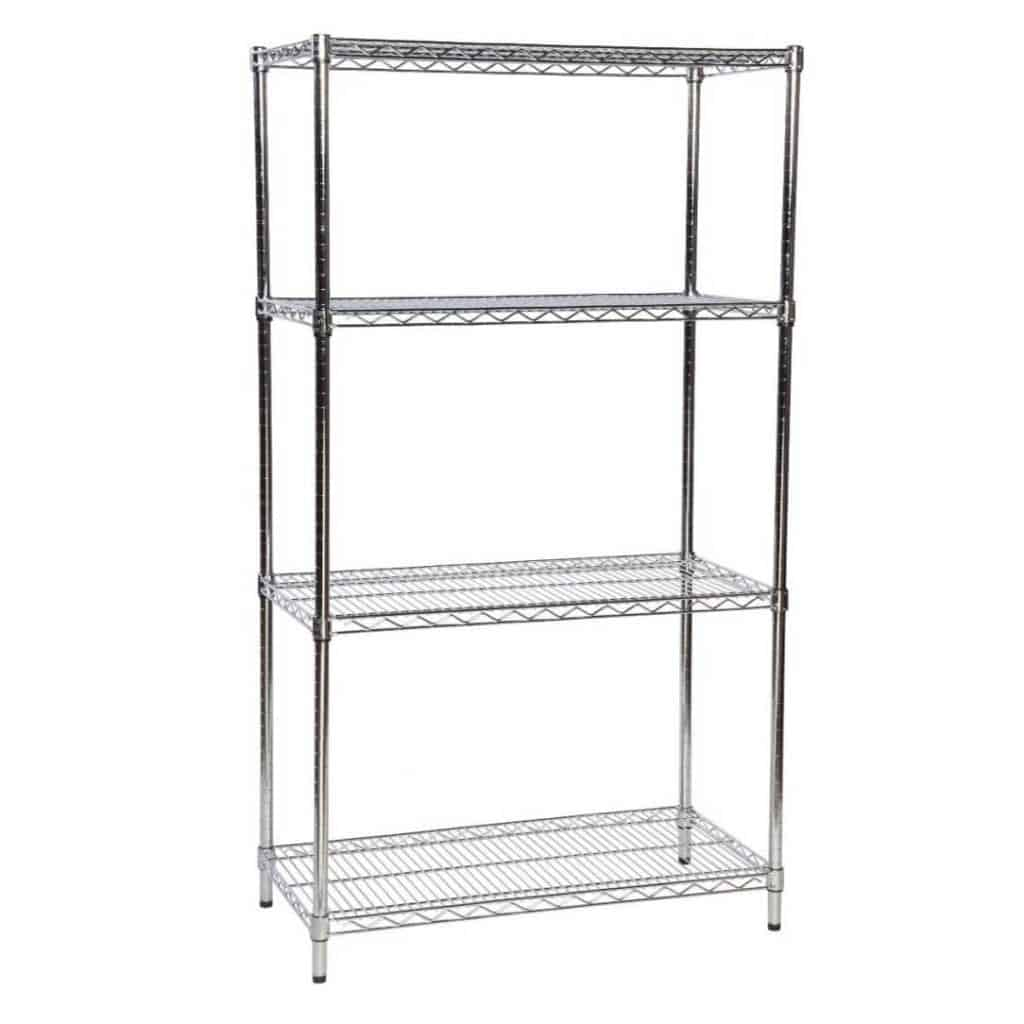 Eclipse Chrome Open Wire Shelving