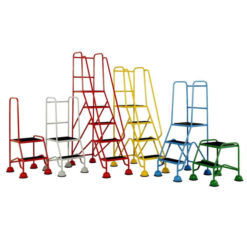 Classic Plus Colour Mobile Safety Steps