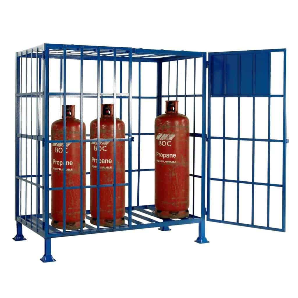 Gas Cylinder Storage Security Cages