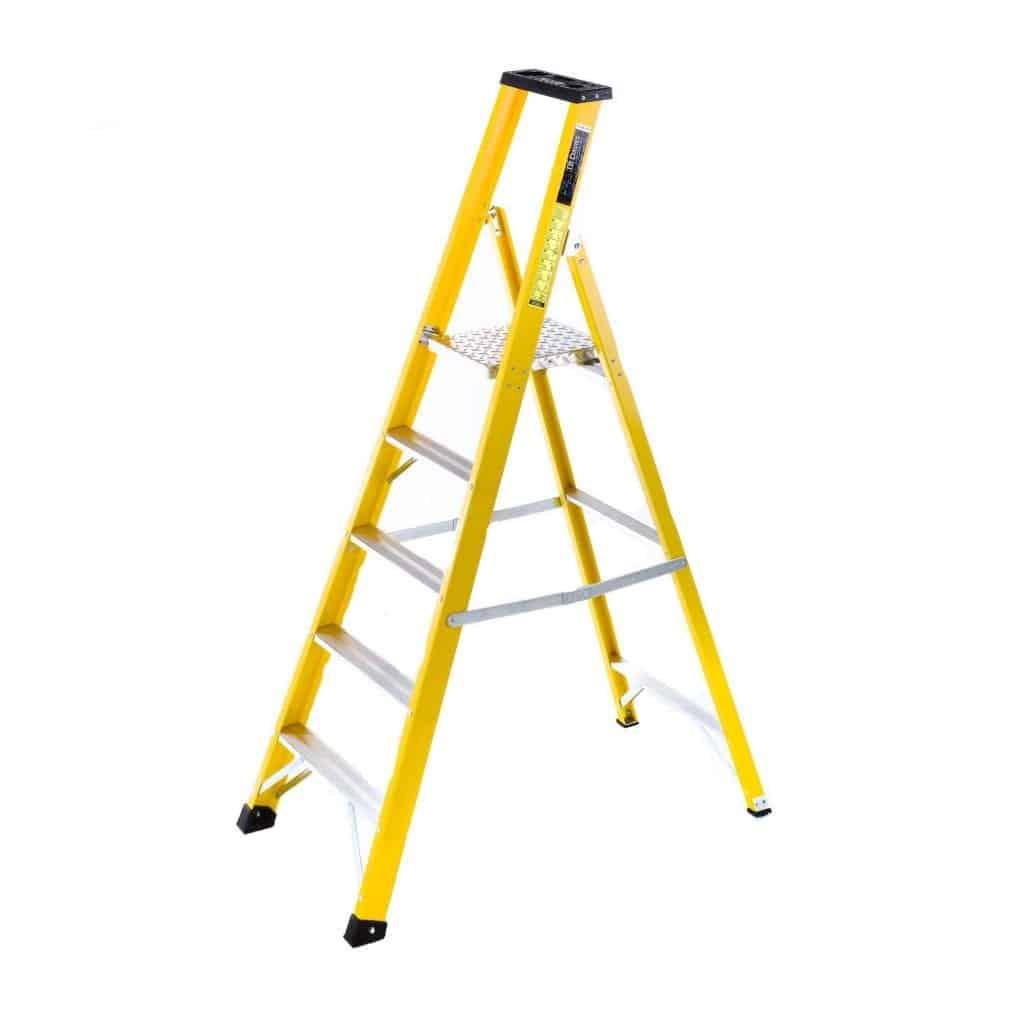 Fibreglass Platform Step Ladders