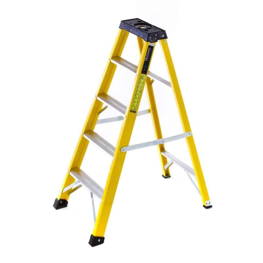 Fibreglass Swing Back Step Ladders