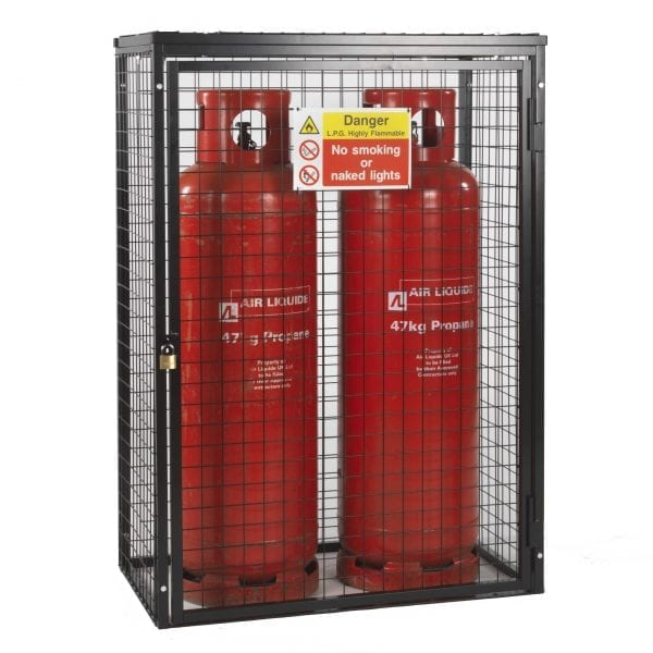 Gas Cylinder Cage H1400 x W1000 x D500mm