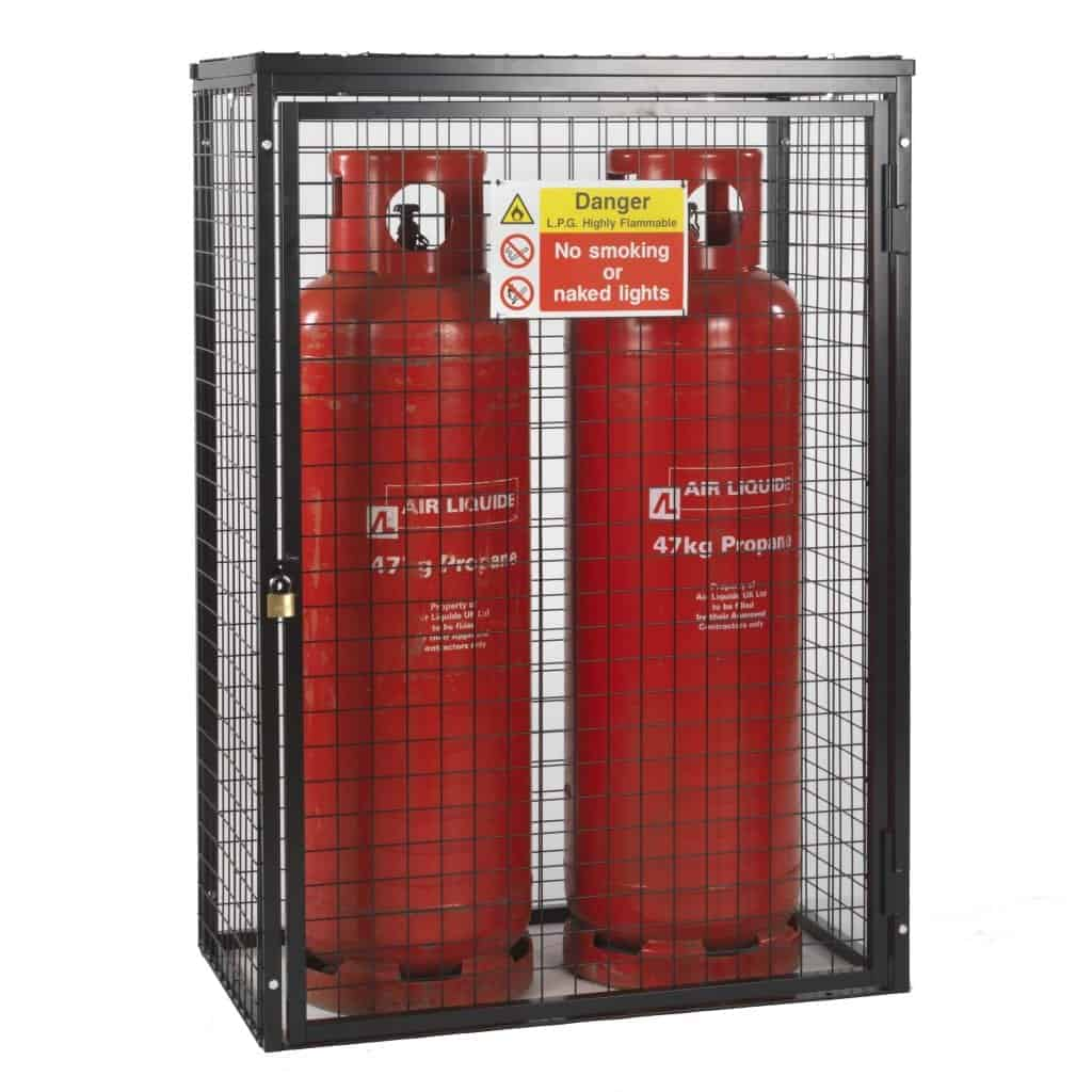 Gas Cages H1400 x W1000 x D500mm